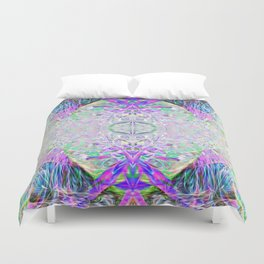 Crystal Dimension Codes Duvet Cover