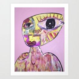 Pink Tranquil Art Print