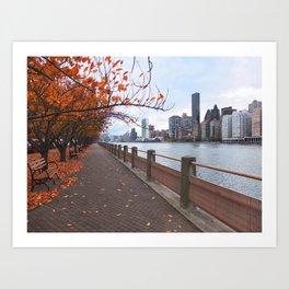 NYC - Governors Island Art Print