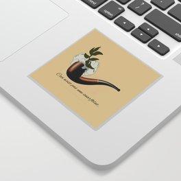 The Treachery of Seagulls Sticker