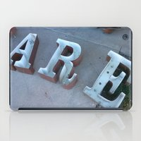 lettering iPad Cases featuring Lettering by Jenna Allensworth