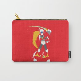 Zero (Mega Man X) Splattery Design Carry-All Pouch