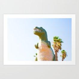 Cabazon Dino2 Art Print
