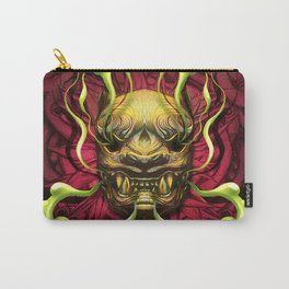Japanese Tiger Green Smoke Carry-All Pouch