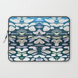 Under The Sea Summer Swimming Lessons, Dark Blue Laptop Sleeve
