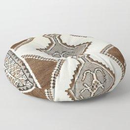 Luri Gabbeh  Antique Fars South West Persian Rug Print Floor Pillow