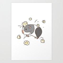 Guinea pig Pattern, Popcorning Kunstdrucke