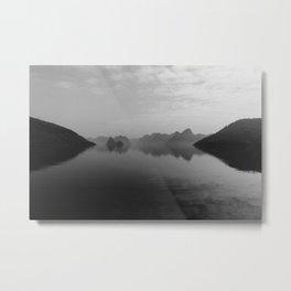 REFLECTIONS OF HALONG BAY Metal Print