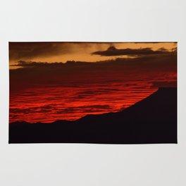 Red Hot Desert Sky Rug