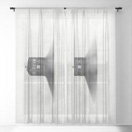 TARDIS Sound Barrier Sheer Curtain