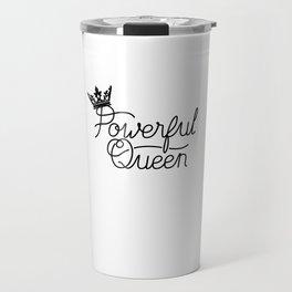 Drama Queen Crown Queen Of Drama Travel Mug