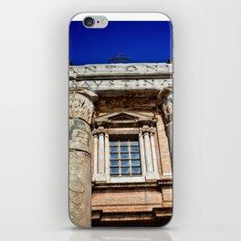 The Temple of Antonius & Faustina iPhone Skin