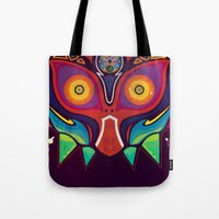 majora Tote Bags featuring Majora by Tommy Price