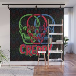 CREPPY Wall Mural