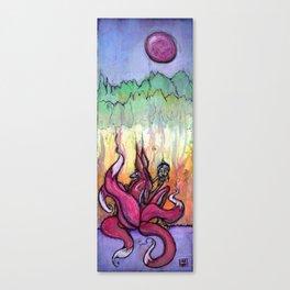Kitsune-lini Awakening Canvas Print