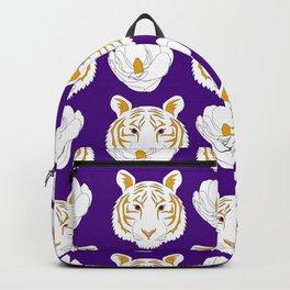 LSU purple Backpack