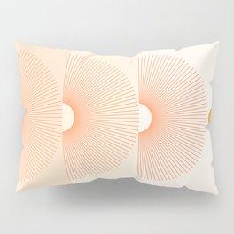 Abstraction_NEW_SUN_LINE_GRADIENT_POP_ART_Minimalism_028AD Pillow Sham