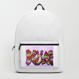 "Graffitti ""Belief"" Backpack"