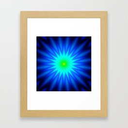 Bright STAR Framed Art Print