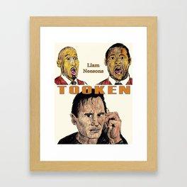 Liam Neesons Tooken Framed Art Print