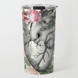 Roses for her Heart Travel Mug