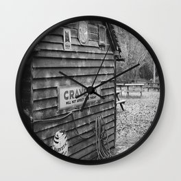 Old Shed Wall Clock
