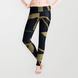 3D Futuristic GEO Lines XIV Leggings