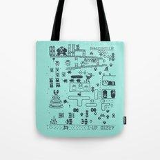 Retro Arcade Mash Up Tote Bag