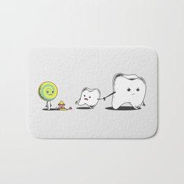 Bad Friend Bath Mat
