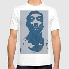 S-N-Double-O-P White Mens Fitted Tee MEDIUM
