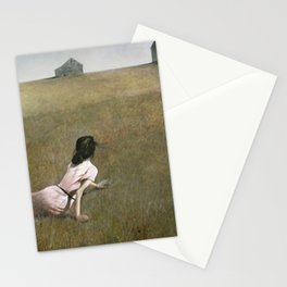 Christina's World - Andrew Wyeth Stationery Cards