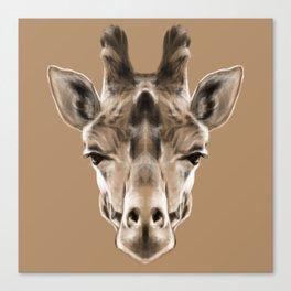 Giraffe Sym Canvas Print