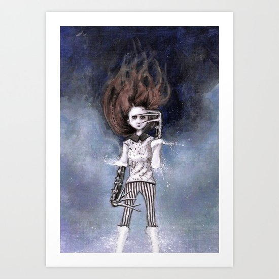 loneliness & my near-complete life Art Print