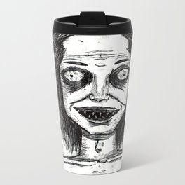 CRAZY DUDE Metal Travel Mug