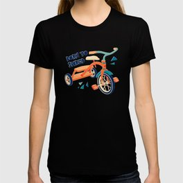 Born to Shred Vintage Tricycle T-shirt
