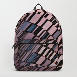 Abstract Architectural Blush Backpack