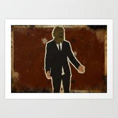 The Dark Knight: Scarecrow Art Print