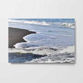 GAME of WAVES - Sicily Metal Print