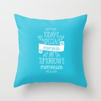 aladdin Throw Pillows featuring Aladdin by Nikita Gill