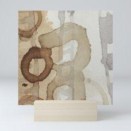 Mind and landscape Mini Art Print