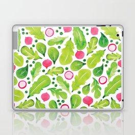 Green Salad pattern Laptop & iPad Skin