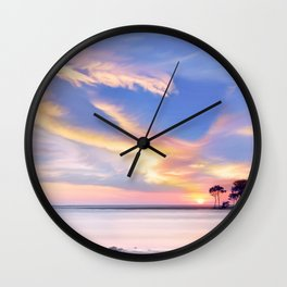 Ardor coast Wall Clock