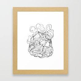 I'm falling apart Framed Art Print