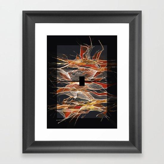 Midnight Fever Framed Art Print