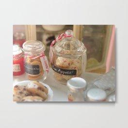 Fresh Cookies Metal Print