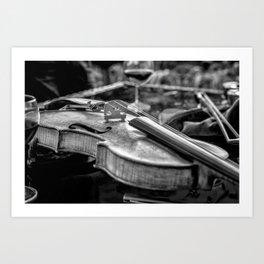 Mono Violin Art Print