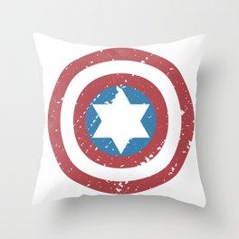 America captain revenge shield icon movie gift Throw Pillow