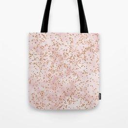 Cotton candy diamond rain Tote Bag