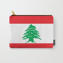 Lebanon Flag Carry-All Pouch