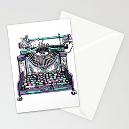 Magical Typewriter Stationery Cards